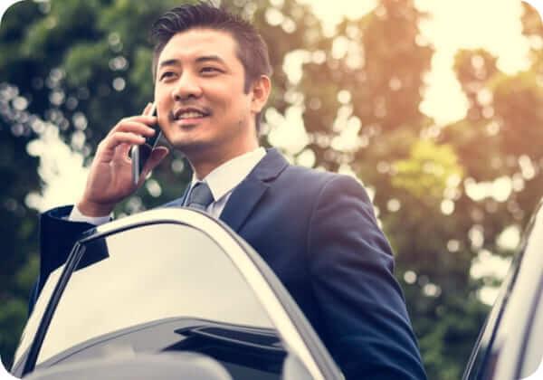 ビジネスや出張にカーシェアで小田原まで利用 4時間の利用:3,520円